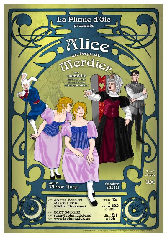 Alice au Pays du mercier